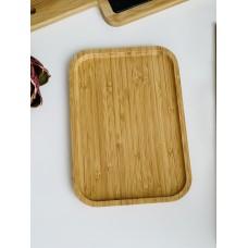 Блюдо бамбуковое прямоугольное 21*14,5