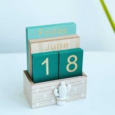 Вечный календарь Кактус 14,5 см