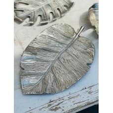 Блюдо алюминий Лист  36 х 23 х 2 см