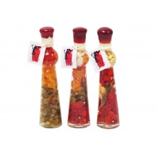 Декоративная бутылка с овощами, 24см, 3 вида