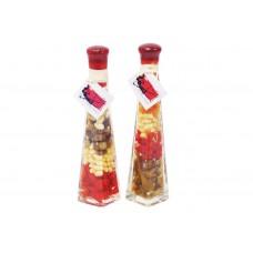 Декоративная бутылка с овощами, 24см, 2 вида