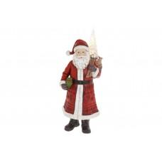 Декоративная статуэтка Санта Клаус, 39.5см, цвет - красный
