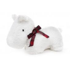 Мягкая игрушка Собака 33см, цвет - белый