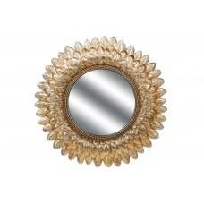 Зеркало Астра, 41см, цвет - состаренное золото
