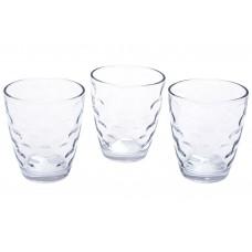 Набор стеклянных стаканов 350мл (3шт) прозрачный