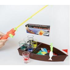 Игра настольная Рыбалка питейная (в наборе 6 стопок) 41см