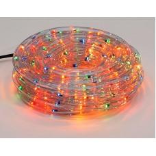 Гирлянда Дюралайт 6м, 30 лампочек/ 1м (разноцветные), прозрачная трубка, режим постоянного свечения. Для внутреннего применения.