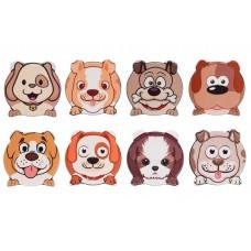 Магнит фигурный 7.5см Funny Dogs