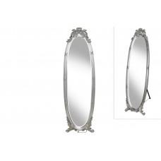 Зеркало напольное Люси 168см, цвет -  серебро