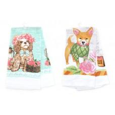 Кухонное полотенце Собаки, 2 вида