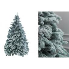 Искусственная елка голубая заснеженная литая 2,5 м.