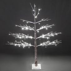 LED дерево в снегу 120см