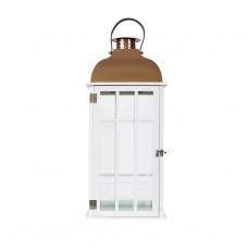 Лампа напольная с медной крышей M