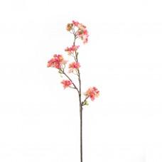 Ветка  цвет персика розовый 73 см