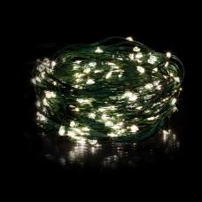 LED Гирлянда с пультом Soft 2.2м 12 полос зеленая водопад