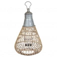 Лампа Ротанг подвесная 55см