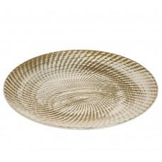 Поднос декоративный Рильефные волны (6007-0013)