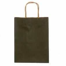Крафтовый пакет зеленый 27*21*11 см (8208-005)