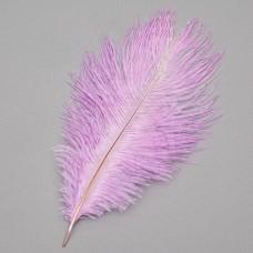 Страусиное перо 25-30 см ярко-фиолетовый (8501-002/bright-purple)