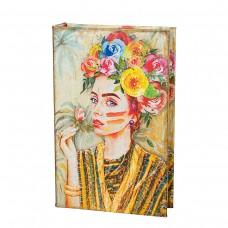 Книга-сейф 'Девушка в цветах'