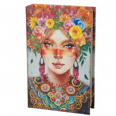 Книга-сейф 'Девушка весна''