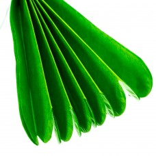 Бумажный пом-пон, зеленый 25 см. (8705-011)