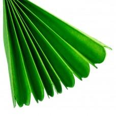 Бумажный пом-пон, зеленый 35 см. (8705-015)