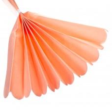 Бумажный пом-пон, розовый 40 см. (8705-017)