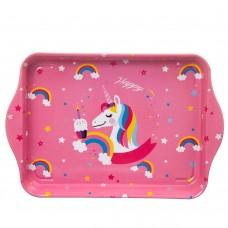 Поднос 'Happy unicorn'