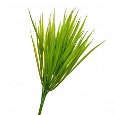 Куст травы светло-зелёный искусственный