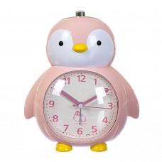 Будильник 'Пингвин' нежно-розовый