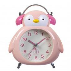 Будильник 'Пингвиненок' розовый