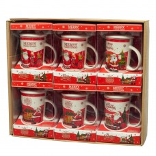 Чашка Merry Christmas, 400 мл. (8804-010)