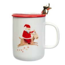 Чашка Santa and deer, 350 мл. (8805-002)