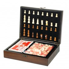 Игровой набор 2 в 1 (шахматы, бинго) (8718-004)