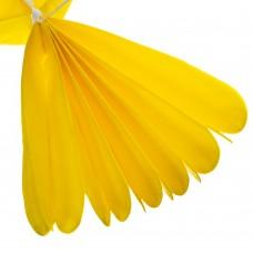 Бумажный пом-пон, желтый 40 см. (8705-018)