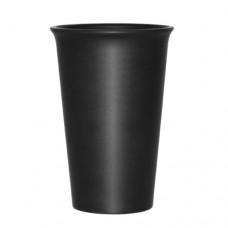 Керамический Черный  Стакан, 440 мл